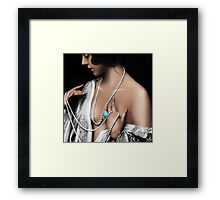Dainty Left Framed Print