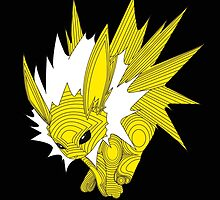 Jolteon the Electrifying  by bendiistraw