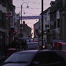 Aberystwyth Busy Street by XtomJames