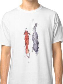 Foxie N Wolfie Classic T-Shirt