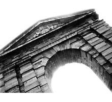 French Arch B&W Photographic Print