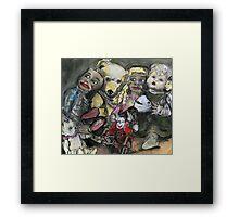 toy rampage Framed Print