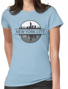 New York City New York Womens Fitted T-Shirt