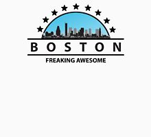 Boston Massachusetts Freaking Awesome Womens Fitted T-Shirt