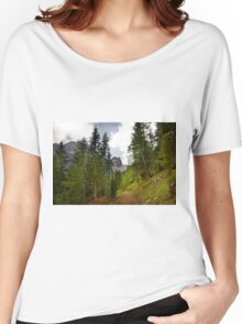 View  Mountain  Ilm Spitze  Women's Relaxed Fit T-Shirt