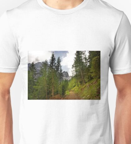 View  Mountain  Ilm Spitze  Unisex T-Shirt