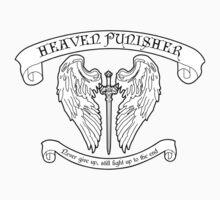 White Heaven Punisher Emblem Kids Clothes