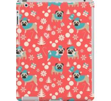 Holiday Pugs in Sweaters iPad Case/Skin