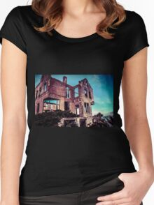 Abandoned Women's Fitted Scoop T-Shirt