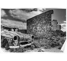 Silverton Ruins. Poster