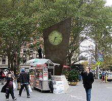 Timesculpture at Lincoln Center, NYC by Patricia127