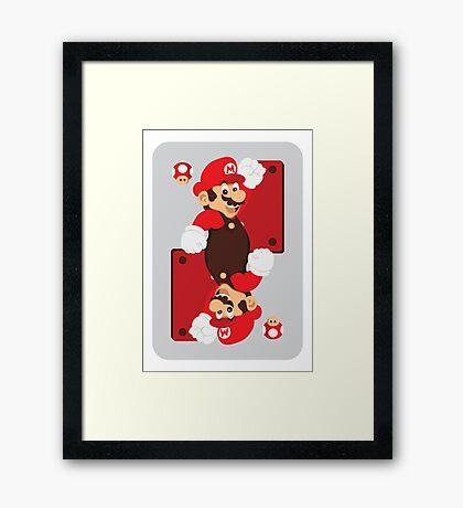 King of Shrooms Framed Print