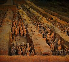 Qin Dynasty TerraCotta Soliders/PICTURE/CARD//PILLOW//TOTE BAG by ✿✿ Bonita ✿✿ ђєℓℓσ