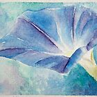 morning glory watercolor by CheyAnne Sexton
