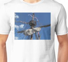 The Half Moon Replica of Henry Hudson's ship Unisex T-Shirt