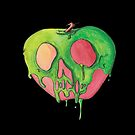 Water Color Poisoned Apple  by LovelessDGrim