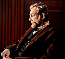 Abraham Lincoln by Daniel Day-Lewis by PaulMeijering