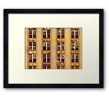 Slated for Demolition Framed Print
