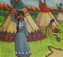Blackfoot Indians by HKBlack