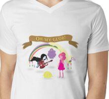 Oh My Glob! Mens V-Neck T-Shirt