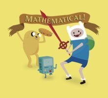 Mathematical Adventure Time! One Piece - Short Sleeve