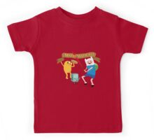 Mathematical Adventure Time! Kids Tee