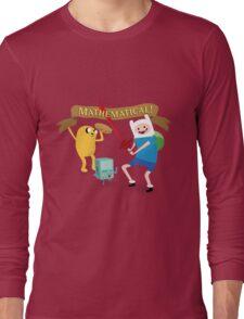 Mathematical Adventure Time! Long Sleeve T-Shirt