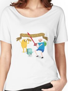 Mathematical Adventure Time! Women's Relaxed Fit T-Shirt