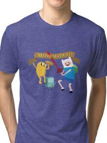 Mathematical Adventure Time! Tri-blend T-Shirt