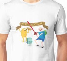 Mathematical Adventure Time! Unisex T-Shirt