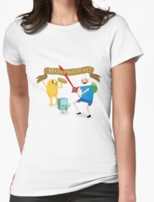 Mathematical Adventure Time! Womens Fitted T-Shirt