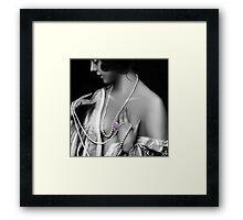 Dainty Lavander Framed Print