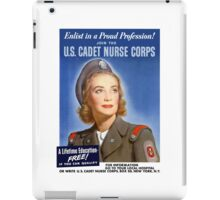 Join The U.S. Cadet Nurse Corps -- WW2 iPad Case/Skin