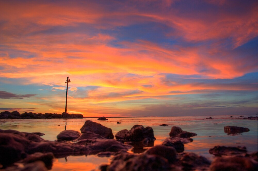 Sunset Darwin 2010 by Daniel Rayfield