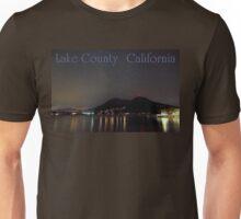 Nighttime Lake County California Unisex T-Shirt