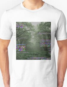 Glitch Forest Unisex T-Shirt