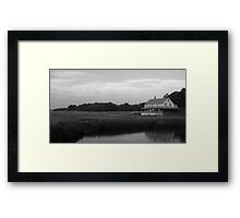 On the Edge of the Marsh, Essex MA Framed Print