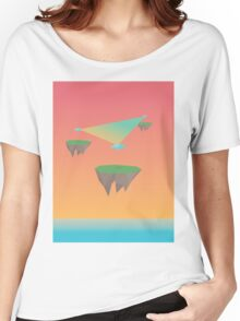 Crystal Islands in The Sky Women's Relaxed Fit T-Shirt