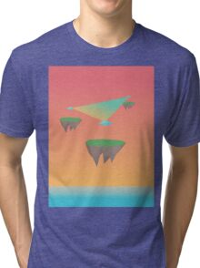 Crystal Islands in The Sky Tri-blend T-Shirt