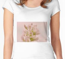 Milkvetch Wild Flower Macro Women's Fitted Scoop T-Shirt