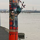 Geelong Bollard - Scotsman by Erica Morse