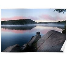 Early Morning on Lake Bonnechere Poster