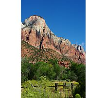 Stroll in the Park ~ Zion Photographic Print