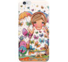 Raining Butterflies iPhone Case/Skin