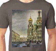 Church of  Savior on Spilled Blood ,Saint-Petersburg Unisex T-Shirt
