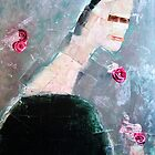 roses over my shoulder by donnamalone