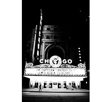 Grayscale Theater Photographic Print