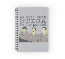 Warehouse Guys - Dark Grey Text Spiral Notebook