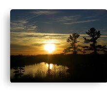 Soak up the Sun! Canvas Print