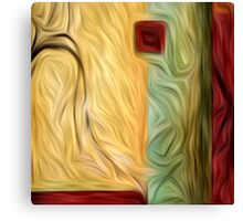 Abstract Colors Oil Painting #9 Canvas Print